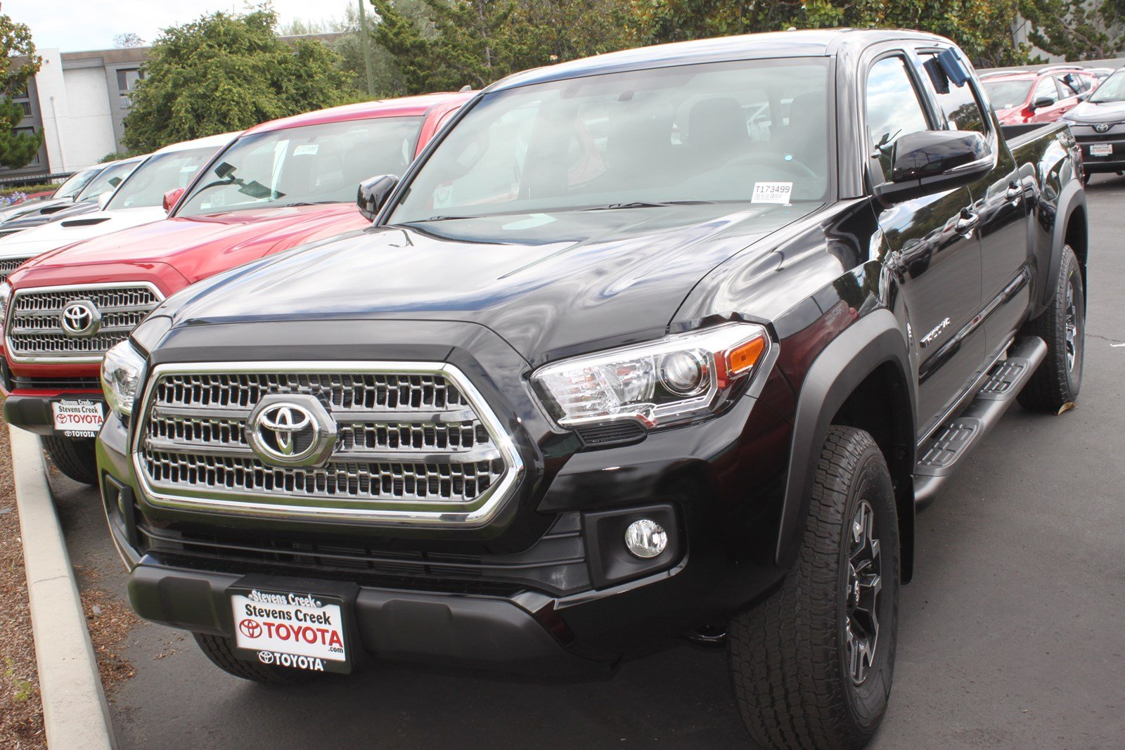 new 2017 toyota tacoma trd off road double cab in san jose t173499 stevens creek toyota. Black Bedroom Furniture Sets. Home Design Ideas
